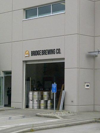 Bridge Brewing- Enterance