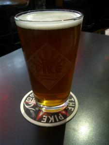 pike brewing pike space needle golden ipa