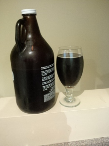 Storm brewing whiskey chocolate stout.