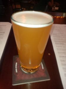 Central City berry kiwi infused wheat ale