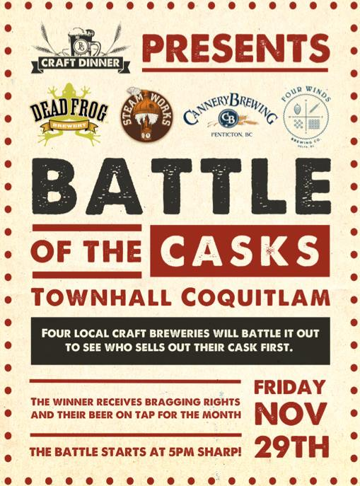 cask off townhall