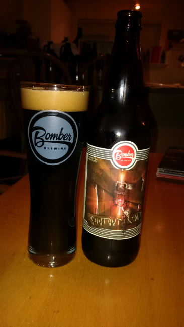 Shutout Stout – Bomber Brewing « Mike's Craft Beer