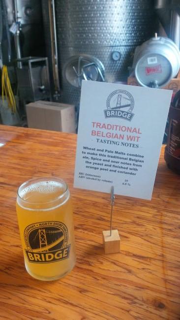 bridge brew traditional belgian wit 2