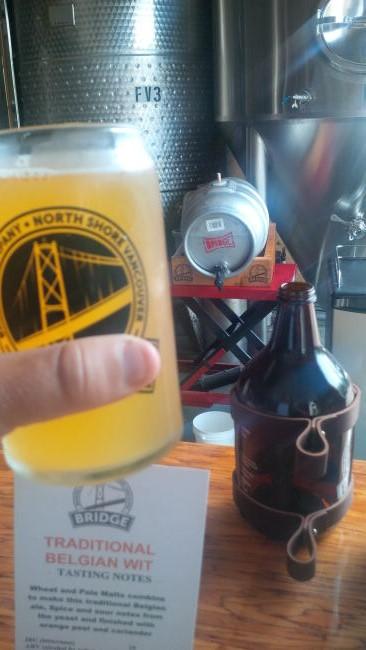 bridge brew traditional belgian wit