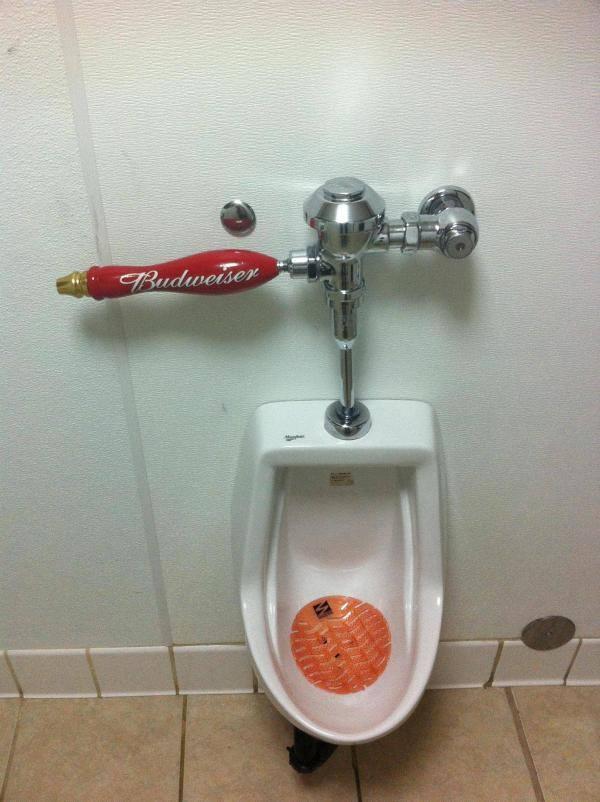Bud Urinal