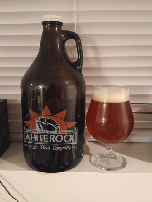 white rock pale ale