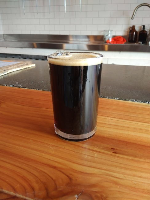 fiked house salted black porter abv 7