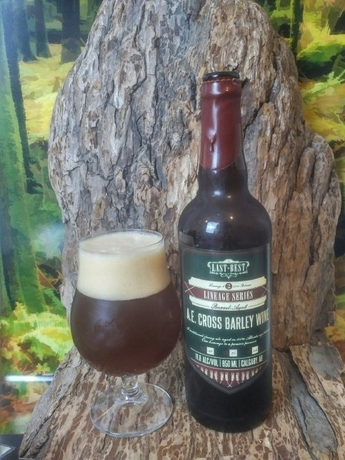 A E  Cross Barley Wine « Mike's Craft Beer